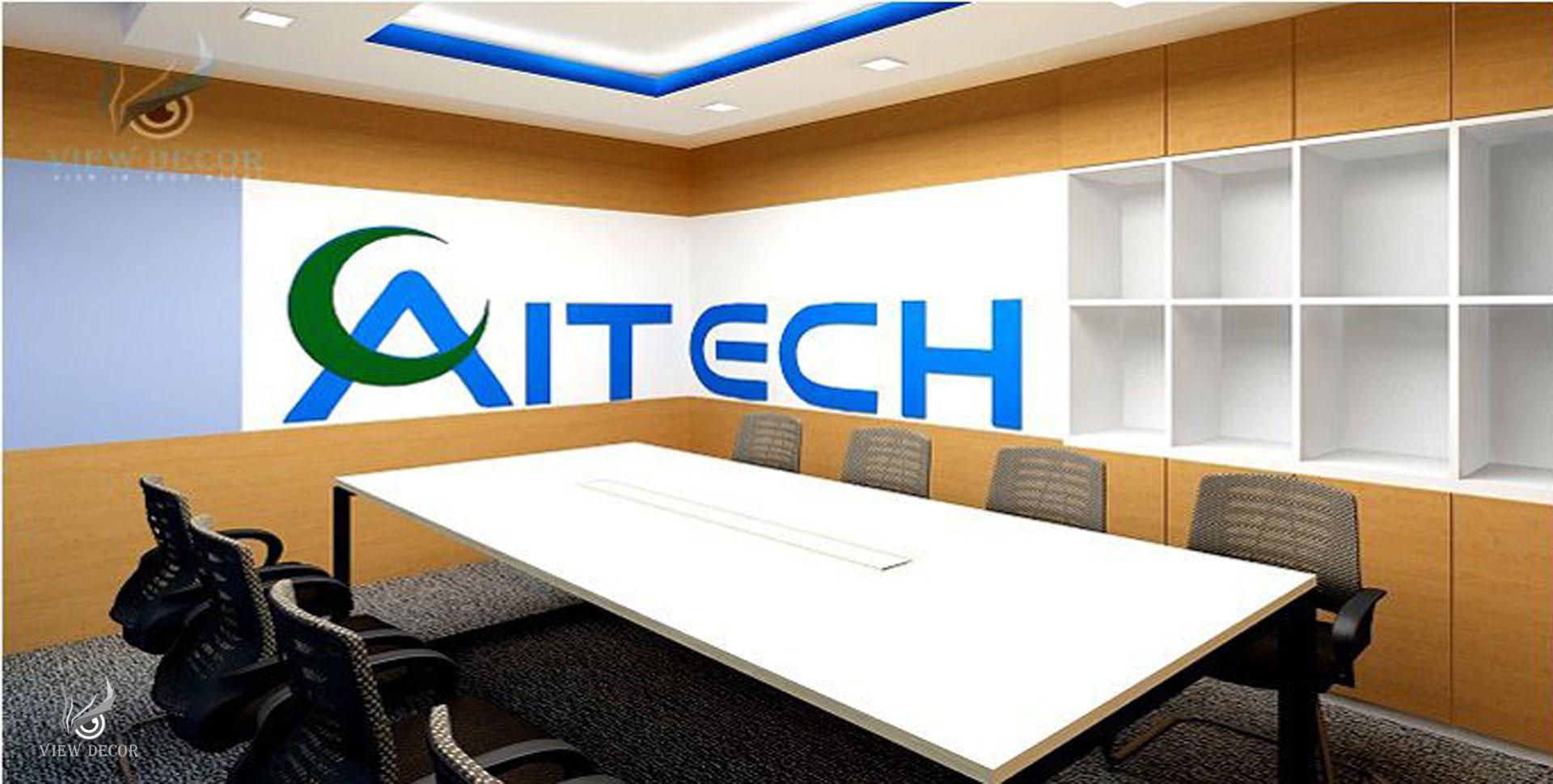 Thi công nội thất văn phòng công ty Aitech