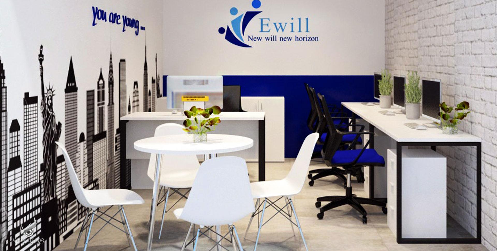 Thi Công Văn Phòng công ty EWILL