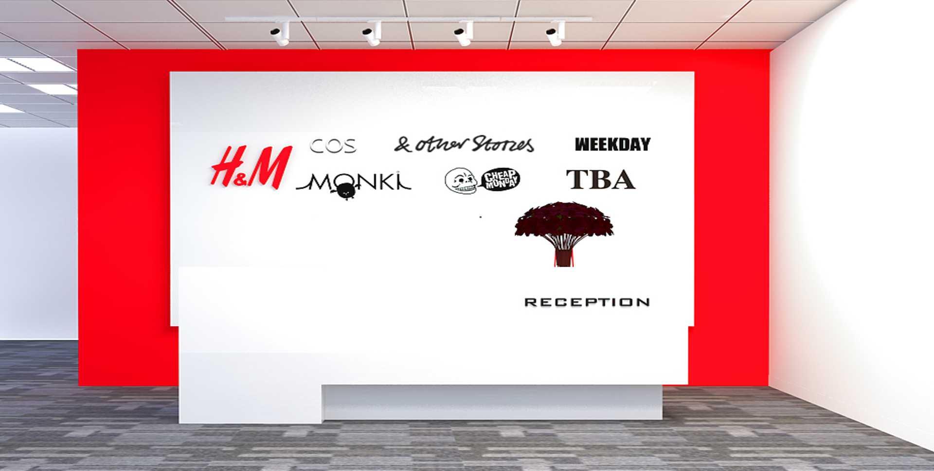 Thi Công Văn Phòng Công Ty H&M Vietnam