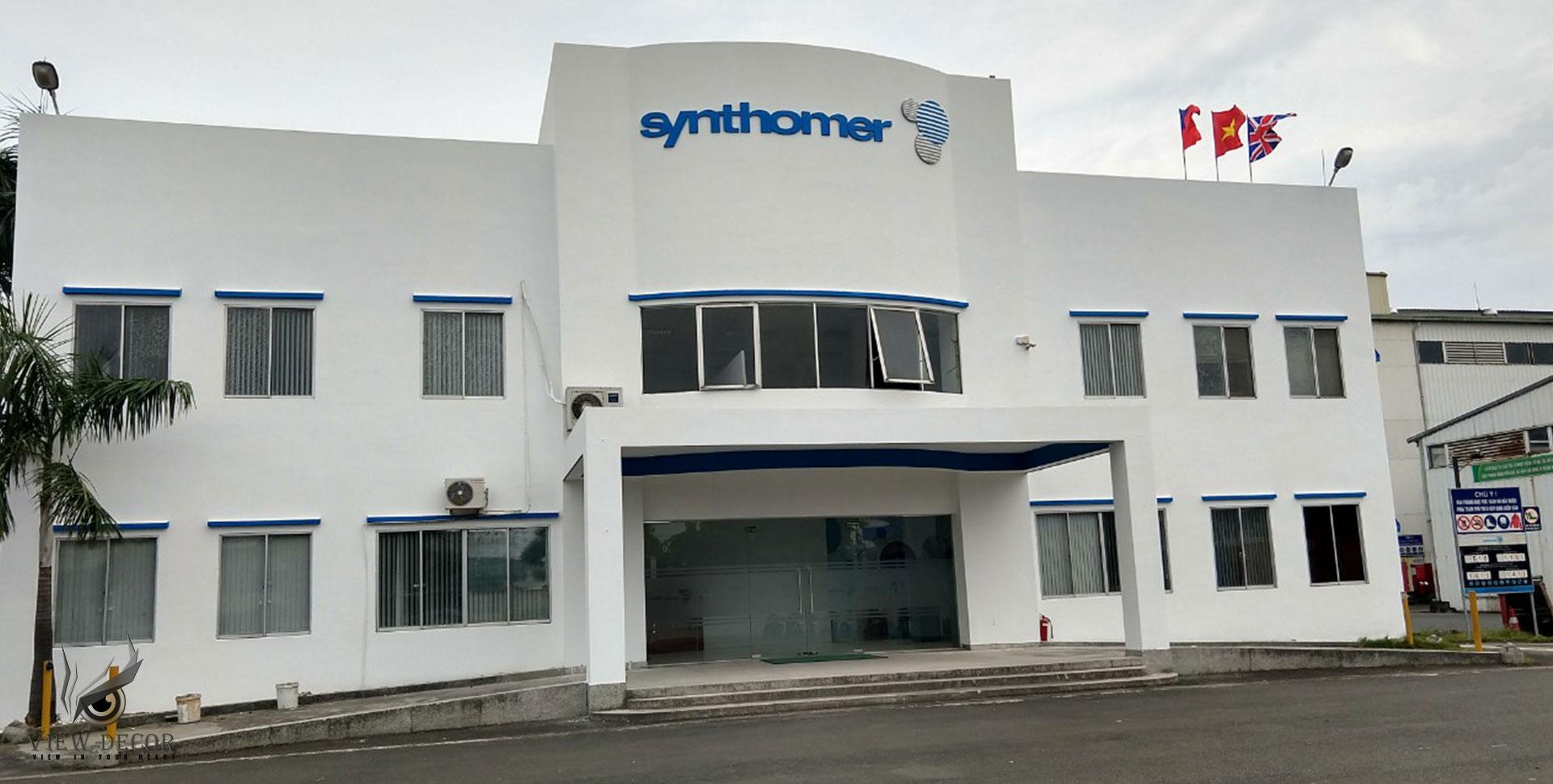 Thi Công Văn Phòng Công Ty SYNTHOMER VIỆT NAM