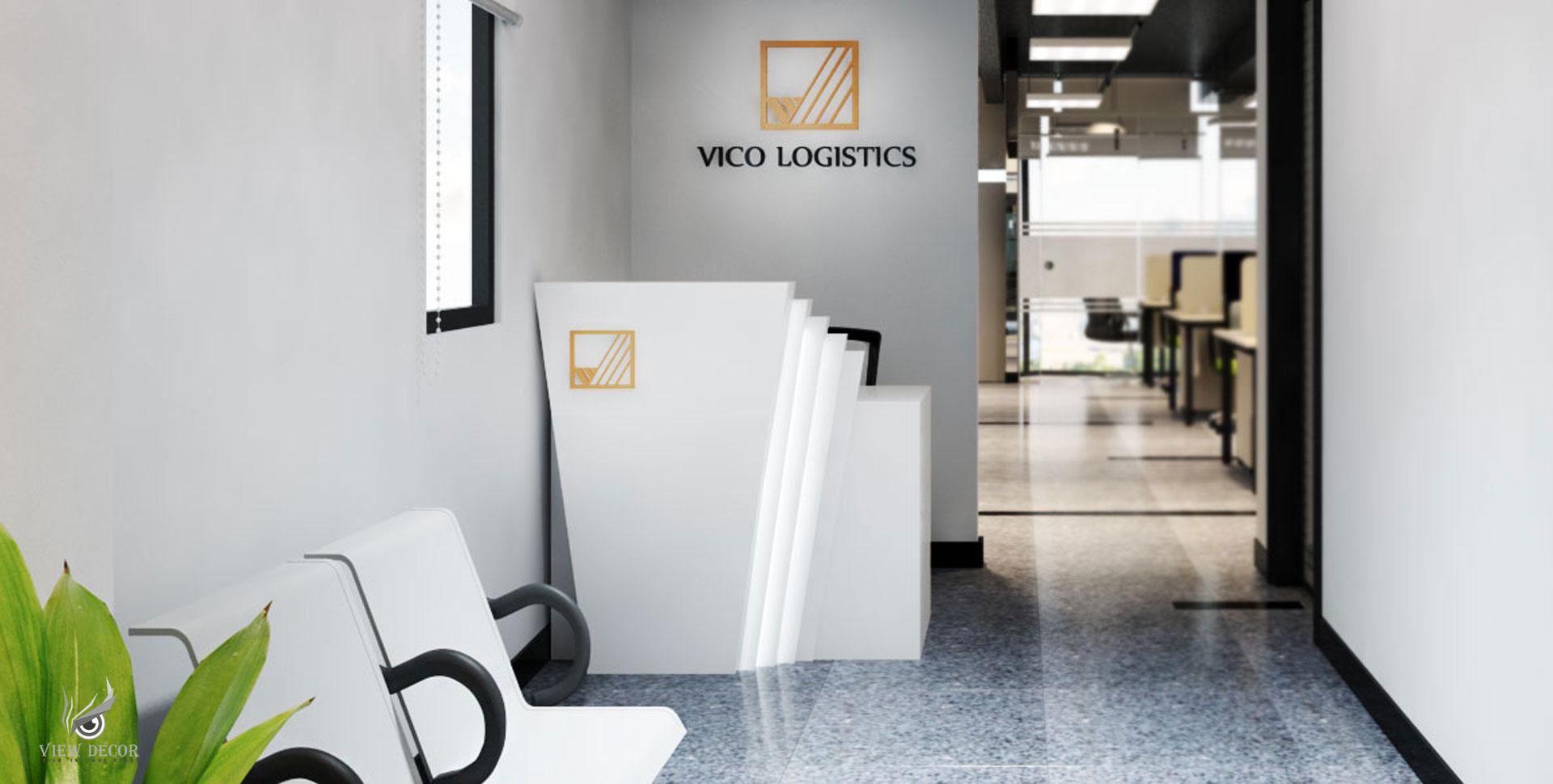 Thi Công Văn Phòng công ty VICO LOGISTICS