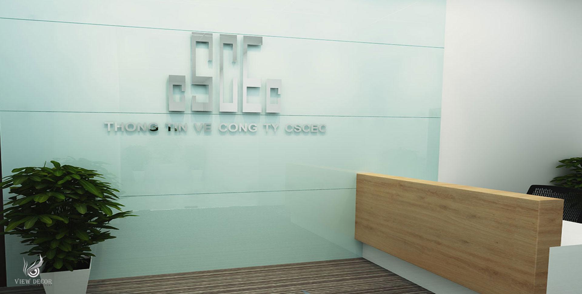 Thi Công Văn Phòng Công Ty Xây Dựng Trung Quốc - CSCEC